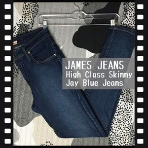 JAMES JEANS • High Class Skinny Jay Blue Jeans